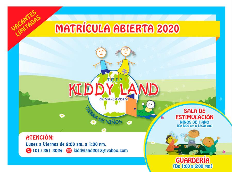 Kiddyland - Formamos Niños Felices Competitivos y Adaptados
